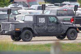 lexus pickup truck spy photos reveal more about jeep wrangler pickup autoguide com news