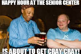 Party Hard Meme - image tagged in party hard old man yolo grandpa happy face beer