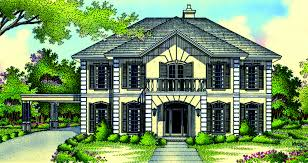plan 55043br two story living room traditional masters and