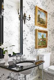 powder rooms with wallpaper create a smashing powder room traditional home