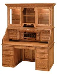 wood computer desk with hutch solid wood computer desk with hutch roll top onsingularity com
