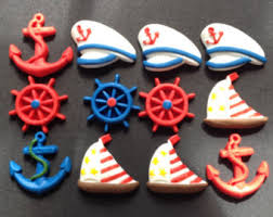 nautical cake toppers fondant edible baby sailor cake topper by evynisscaketopper 1
