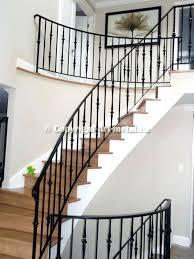 metal stair rail indoor wood stair railings indoor wood stair