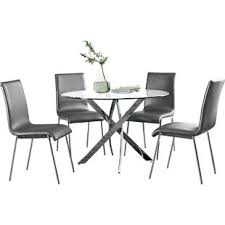 Black And White Dining Room Sets Modern Contemporary Dining Room Sets Allmodern