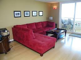 home decor red red sofa decor