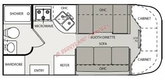 Type B Motorhome Floor Plans Citation 21bc Print This Page Stock No Na26964