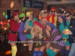 Dopey Dwarf Halloween Costume Snow White 7 Dwarfs Group Costume