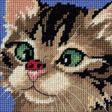 dimensions needlepoint kit cross eyed ebay