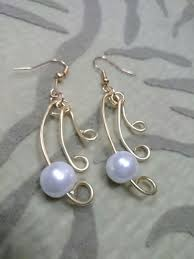 earrings ideas how to make wire jewelry ideas pearl simplicity earrings