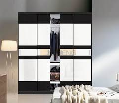 black and white modern bedrooms modern wardrobes design with classic black and white color
