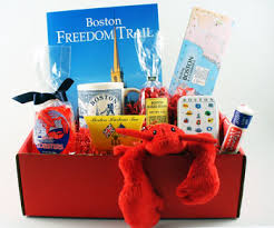 boston gift baskets boston visitor gift basket massachusetts bay trading company