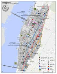 Mta Map New York by District 3 Map Participatory Budgeting In New York City