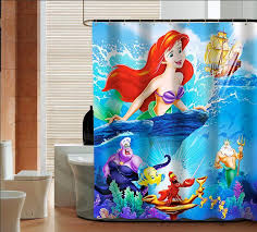 The Little Mermaid Curtains Elegant Little Mermaid Curtains And Online Get Cheap Little