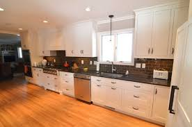 Granite Countertops And Cabinet Combinations Kitchen Room Design Excited Kitchen Remodel Modern White Wooden