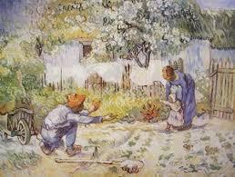 the flower garden 1888 vincent van gogh popartuk