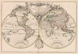 Ou Map 1775 Mappe Monde Ou Description Du Globe Terrestre U2013 Hjbmaps Com