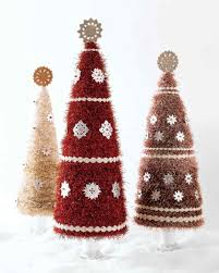Glitter Tinsel Tree Martha Stewart