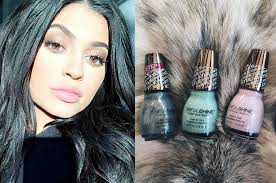 spoke to kylie jenner about her new nail polish collection