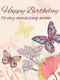 birthday butterfly cards for mother birthday u0026 greeting cards by