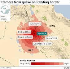 map iran iraq iran iraq earthquake the villages vanished news