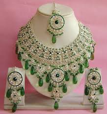 indian wedding necklace sets images Silver plated indian wedding bridal jewellery set np 281 bridal jpg