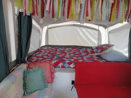 interior re do of my popup camper ideas inspired by pinterest