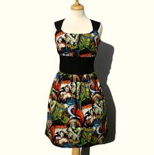 rockabilly pinup dress classic pinup dress monsters vintage