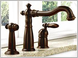 delta bronze kitchen faucets delta oil rubbed bronze kitchen