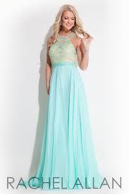 rachel allan prom dress 7251 mint size 14
