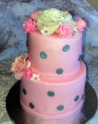 pink baby shower cake story kay cake designs