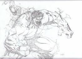 hulk vs wolverine by timothygreenii on deviantart