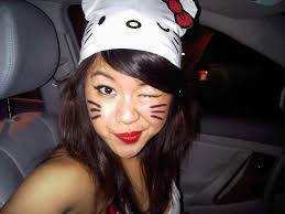 how to do hello kitty makeup for halloween images