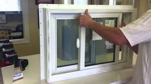 euroclad by vinyltek 2500 series double slider window youtube
