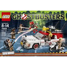 halloween legos lego ghostbusters 2016 ecto 1 and ecto 2 building set walmart com