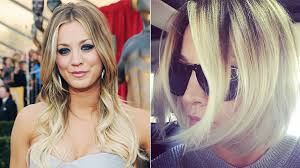 why did kaley christine cuoco sweeting cut her hair kaley cuoco debuts a new short and sleek bob haircut instyle com