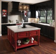 inspiring efficient kitchen design concept orangearts countertop fabulous black wooden cabinet also red table feat white michael pool house images decoration
