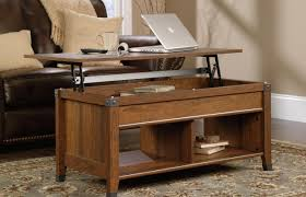 feisty light wood coffee table with storage tags long coffee