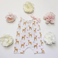 fawn headband baby shop baby animal friends fawn romper headband