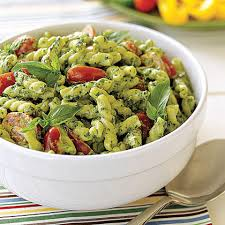 cold pasta dish pesto pasta salad recipe myrecipes