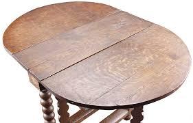 Drop Leaf Oak Table Antique Oak Gate Leg Drop Leaf Table Eron Johnson Antiques