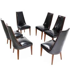 High Back Leather Dining Chairs Sale Tahli Sheesham High Back