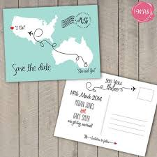 Make Your Own Save The Dates Destination Wedding Invites Reduxsquad Com