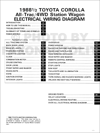 1988 toyota corolla all trac 4wd station wagon wiring diagram