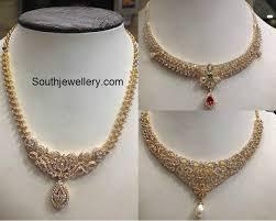 diamond sets images 4 to 6 lakhs diamond sets jewellery designs
