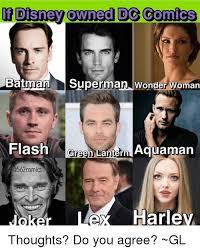 Owned Meme - disney owned dg comics batman superman wonder woman flash green la