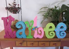 how to decorate wooden letters for baby room design ideas u0026 decors