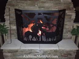 Fireplace Metal Screen by Fireplace Screens Customized For You At Alabama Metal Art