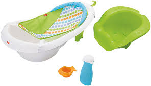 Baby Born Bath And Shower Amazon Com Fisher Price 4 In 1 Sling N Seat Tub Multi Color