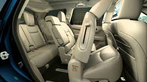 nissan pathfinder luggage capacity nissan pathfinder concept seating cabin revealed youtube