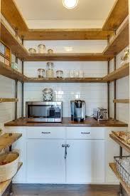 Small But Striking U Shaped Dislike Mainstream Kitchen Shelving These Tens Industrial Kitchen